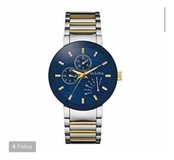 Relógio Bulova 98c123 Clássico Quartzo Original