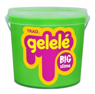 Gelelé Slime Meleca Geléia Massinha Big Balde