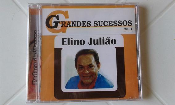 Cd Elino Julião - Grandes Sucessos - Lacrado