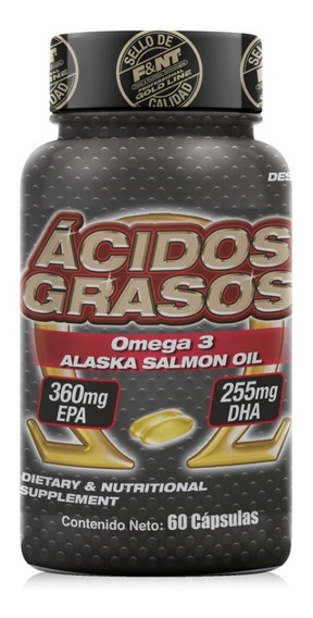 F&nt Omega 3 Ácidos Grasos: Ácido Graso De Salmón De Alaska.