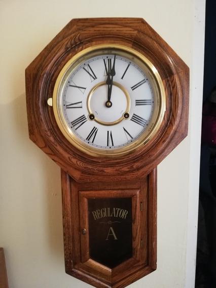 Reloj De Pared Marca Regulator De Cuerda