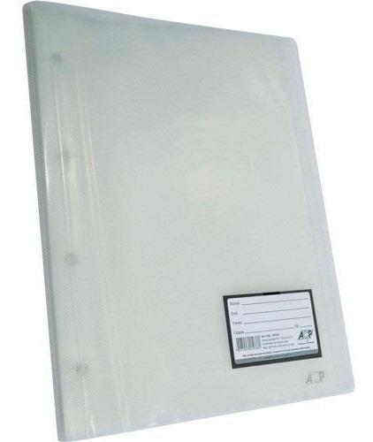 Pasta Catálogo Acp 335x257 30 Env Plast 0,12 Pp Line Cristal