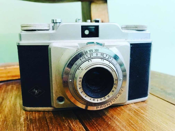 Antiga Câmera Fotográfica Agfa Alemã