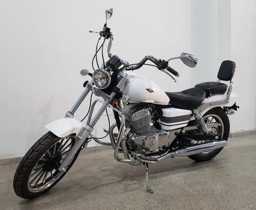 Custom 250-9 Inyección-blanca-rvm Jawa Argentina