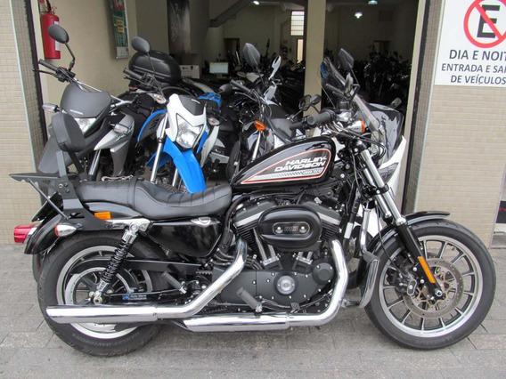 Harley Davidson Xl 883r 2014 Preta