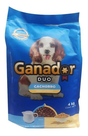 Ganador Duo Cachorro Caja Con 5 Bultos De 4 Kg