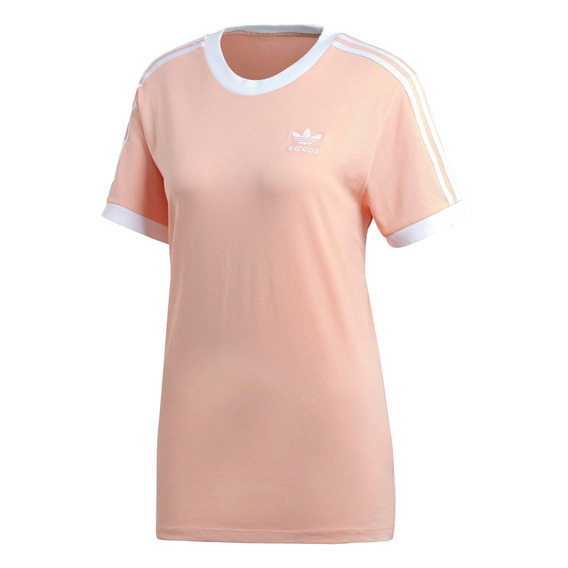 adidas Original Remera M/c Mujer Lifestyle 3-stripes Rs Fkr