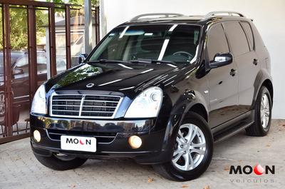 Ssangyong Rx 2.7 4x4 Diesel Automático 7 Lugares 2011 Preto