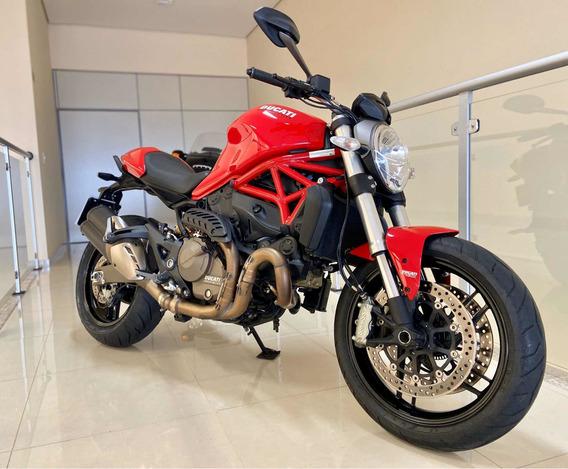 Ducati Monster 821 - 2015 - Apenas 5.392 Km!