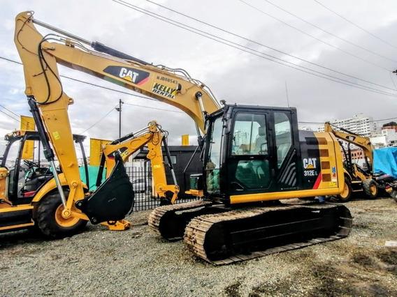 Excavadoras Caterpillar 312el Año 2016 Importada!