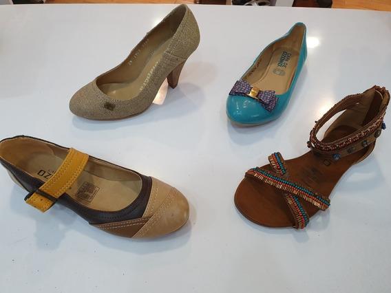 Oferta Lote De 20 Pares De Zapatos De Dama Gran Variedad