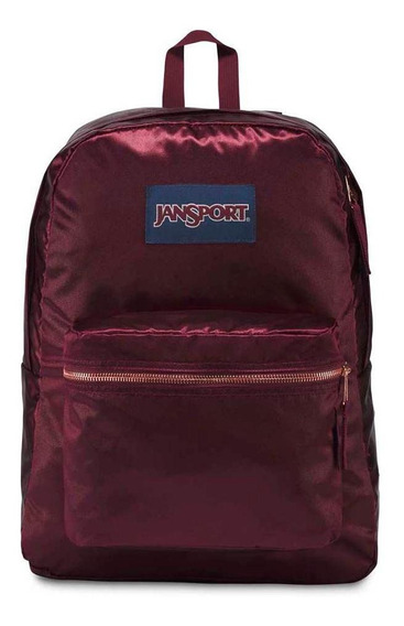 Mochila Jansport High Stakes Russet Red/rose Gold
