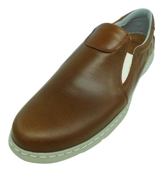 Zapato Urbano Xl Free Confort Cuero Ultraliviano 45-50
