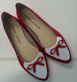 505f2a9b8 Sapato Confraria Feminino Sapatilhas - Calçados, Roupas e Bolsas no ...