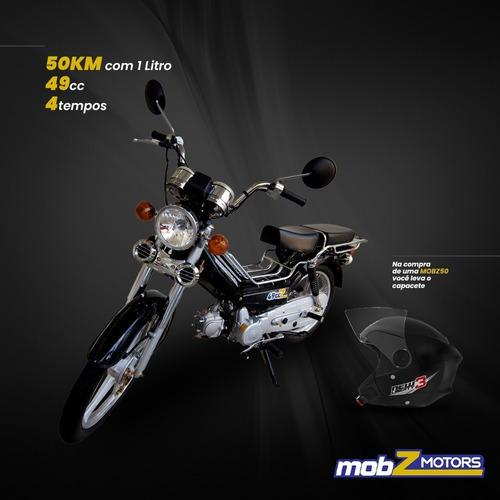 Mobilete Mobz50, Motor 4 Tempos - 49 Cc