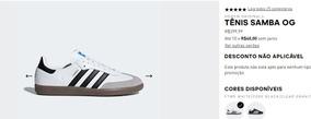 Tênis adidas Originals Samba Og N° 40