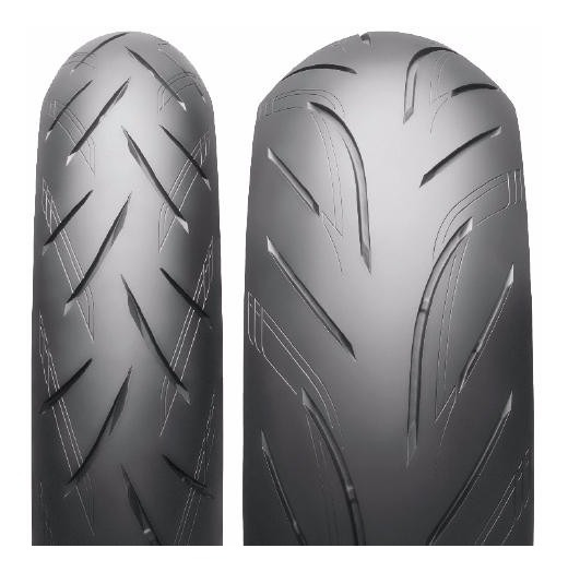 Pneu De Moto Bridgestone S21 120/70-17 (58w) Dianteiro