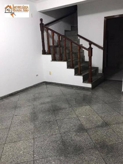 Sobrado Com 4 Dormitórios À Venda, 184 M² Por R$ 490.000,00 - Residencial Parque Cumbica - Guarulhos/sp - So0458