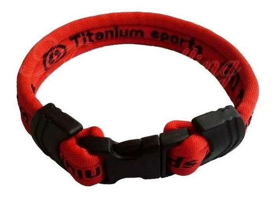 Pulseira Bracelete Anti Stress Titanium Sports