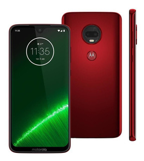 Celular Motorola Moto G7 Plus Xt1965 64gb 16mp Rubi