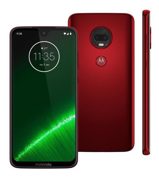 Celular Motorola Moto G7 Plus Xt1965 64gb 16mp Rubi
