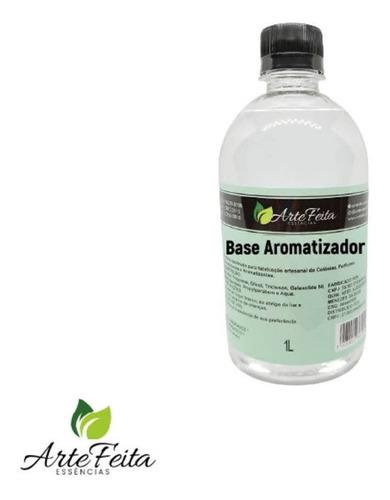 Base Pronta Aromatizador De Ambiente 1000ml Com Fixadores