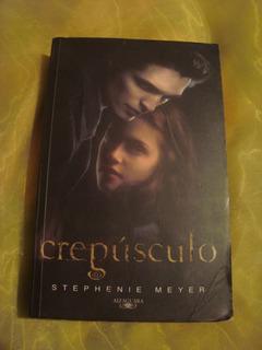 Libro Crepúsculo De Stephenie Meyer