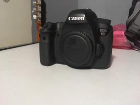 Câmera Digital Canon Eos6d, Wifi, Full Frame, 20.2 Mp, Corpo