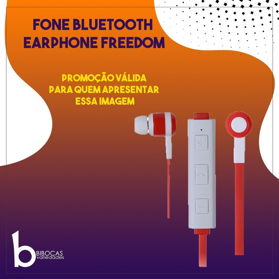 Fone De Ouvido Bluetooth 3.0 Maxprint Earphone Freedom