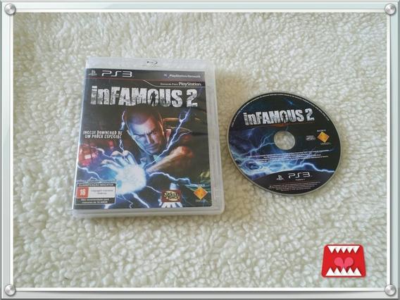 Jogo Infamous 2 Mídia Física Playstation 3 Ps3
