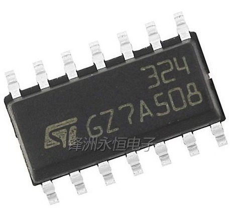 Lm324 Amplificador Operacional De Alta Potencia
