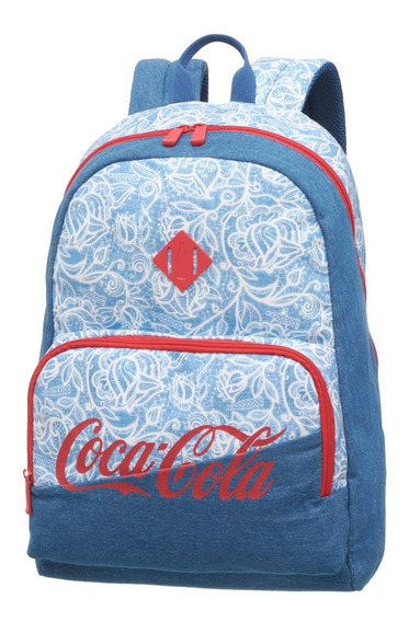 Kit Mochila Costas + Estojo Coca Cola Lace Pacific 7841104