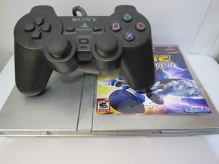 Consola Playstation 2 Slim + Juego / Ps2 / Envio Gratis