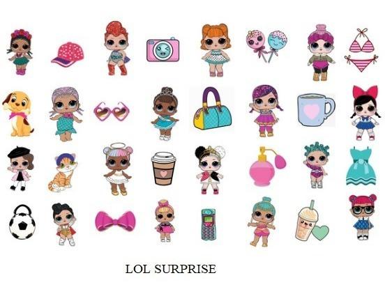 192 Tatuagem Temporária Infantil - Temas Meninas