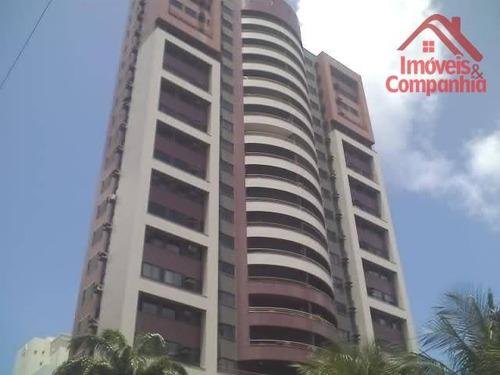 Apartamento À Venda, 200 M² Por R$ 1.000.000,00 - Meireles - Fortaleza/ce - Ap1037