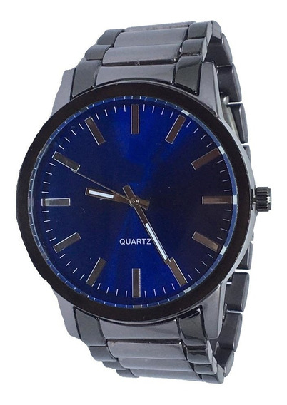 Relógio Masculino Analógico Prata Top Exclusivo Barato