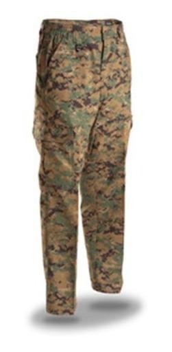 Camo 707 B.d.u. Pant. Pantalones Tacticos Camuflaje.