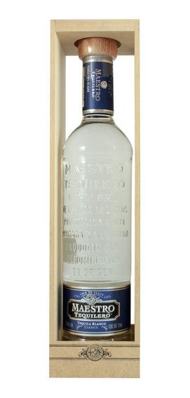 Tequila Maestro Tequilero Blanco 750 Ml