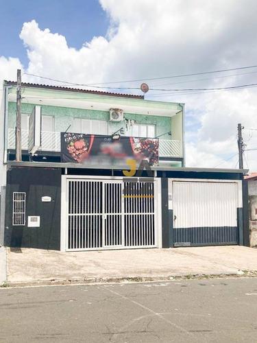 Casa Com 3 Dormitórios E 1 Salão Comercial  À Venda, 276 M² Por R$ 1.000.000 - Jardim Ipaussurama - Campinas/sp - Ca12507