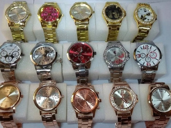 Relógios Femininos Atacados Kit Com 7 Unidades