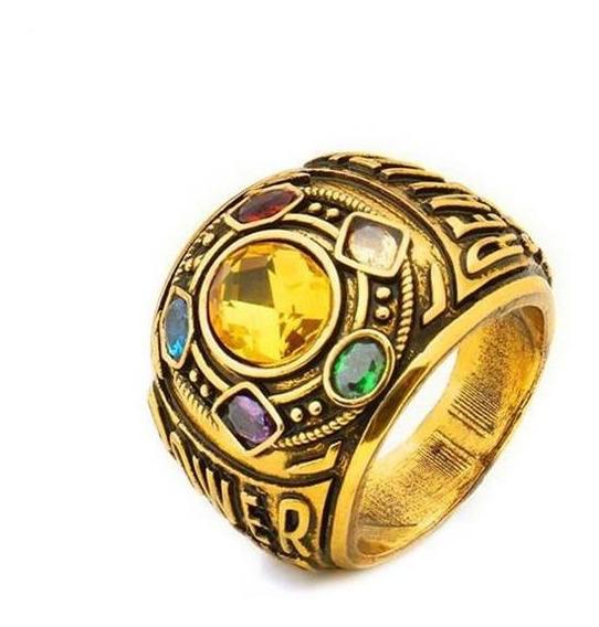 Anel De Cristal Masculino Feito À Mão Thanos Anéis De Ded