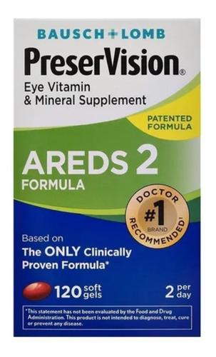 Preservision Areds 2 Fórmula Eye Vitamin & Mineral 120 Caps