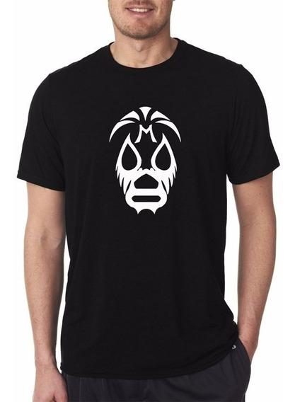 Camiseta Lucha Libre Mil Máscaras