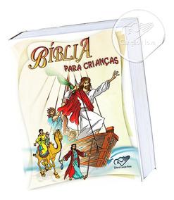 Livro Bíblia Para Crianças Católica Canção Nova