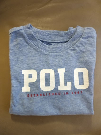 Kit 2 Camisetas Infantil Ralph Lauren Menino Nova Importada