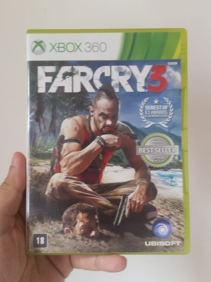Jogo Farcry 3 Em Mídia Física Original Xbox 360 - Frete R$12