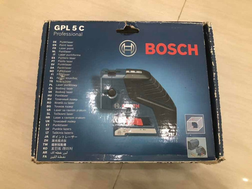 Nivel Láser Bosch Gpl 5 C Profesional. 80 Verdes