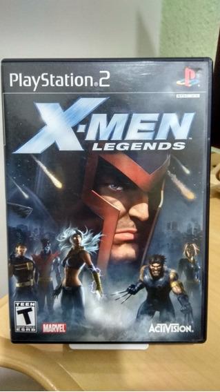 X Men Legends Ps2 Original Americano Ntsc Usado