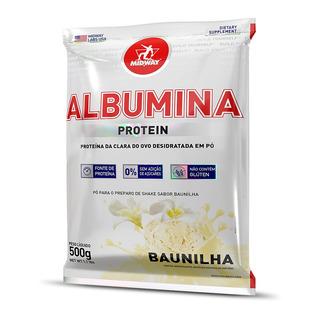 Albumina 500 G Baunilha Midway Labs