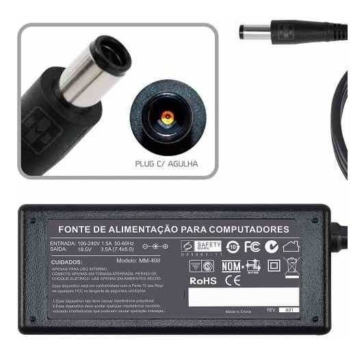 Fonte Carregador Para Cce Pc All In One Cce A45 65w 713